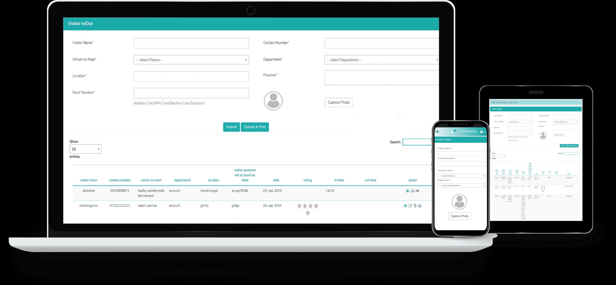 Visitor-Management-Application