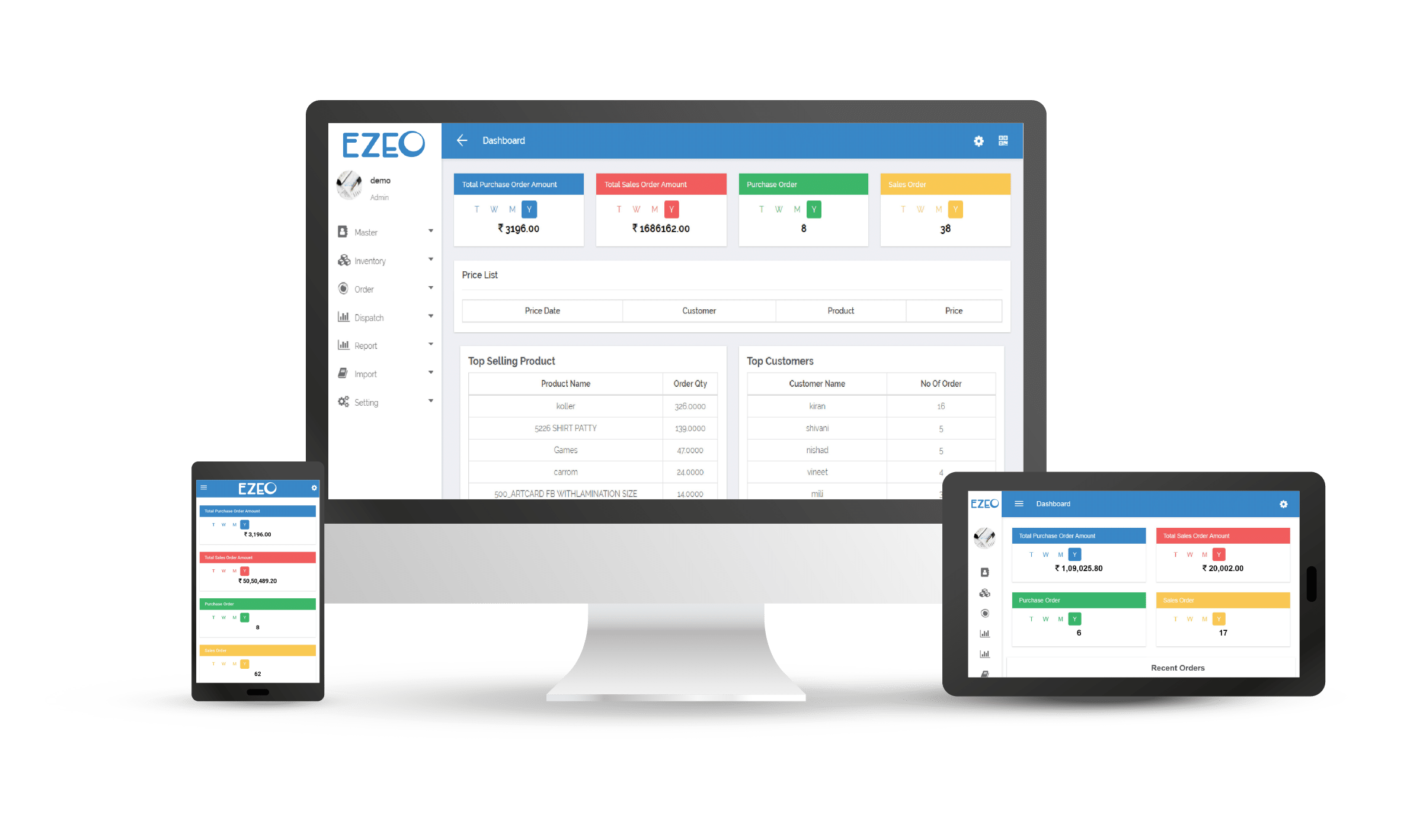 EZEO a Supply Chain Platform by Naapbooks