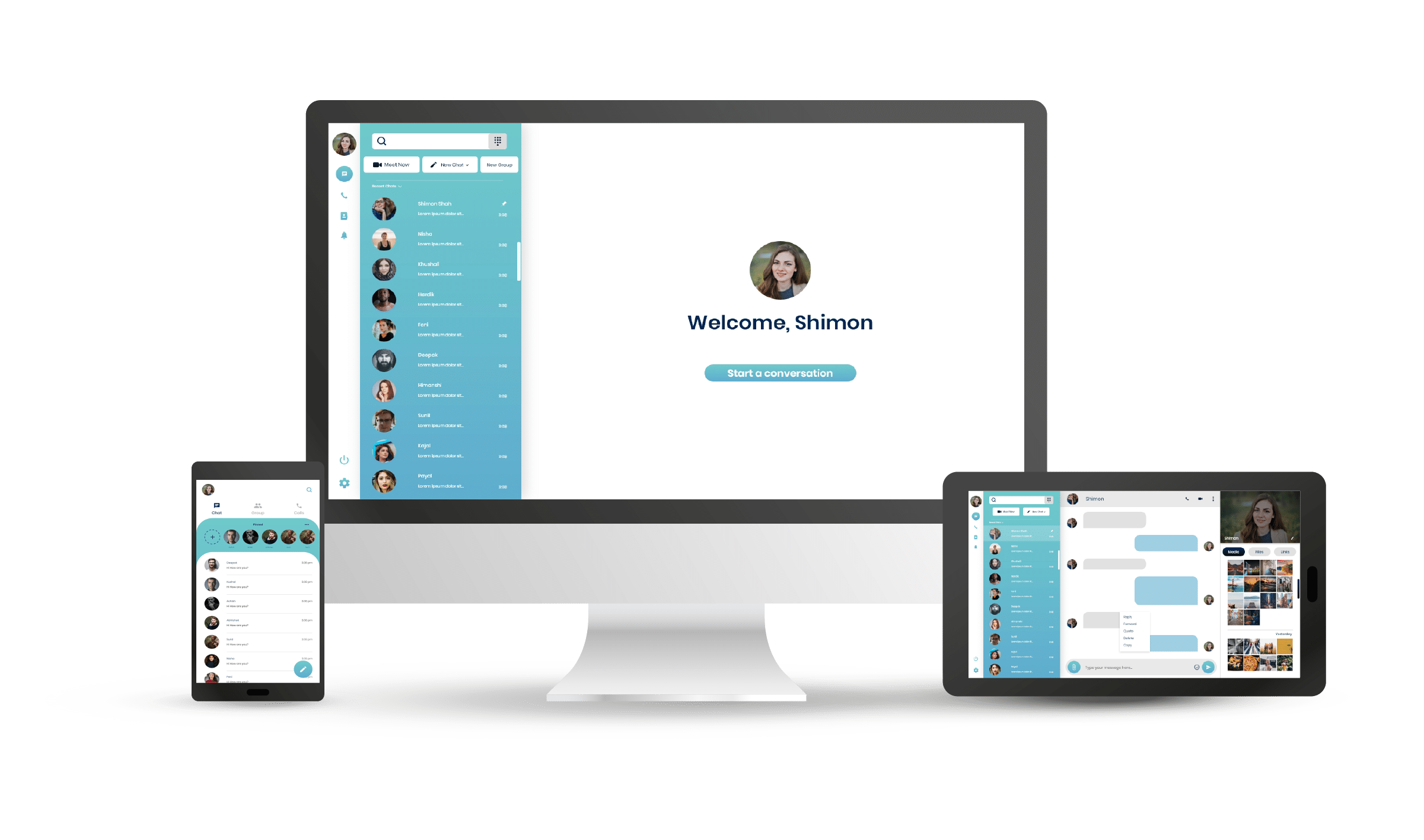 Chat with Privacy and Data security